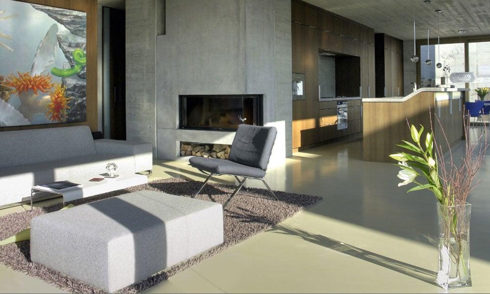 Cementgebonden gietvloer