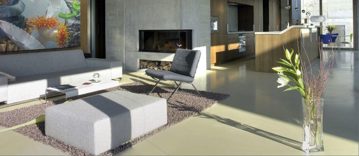 Onderhoud en reiniging van een betonlook vloer