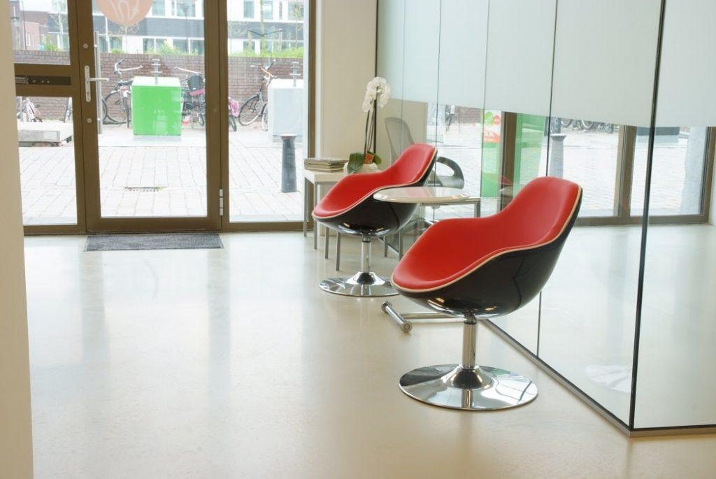 Gietvloer Landsmeer - winkel inrichten