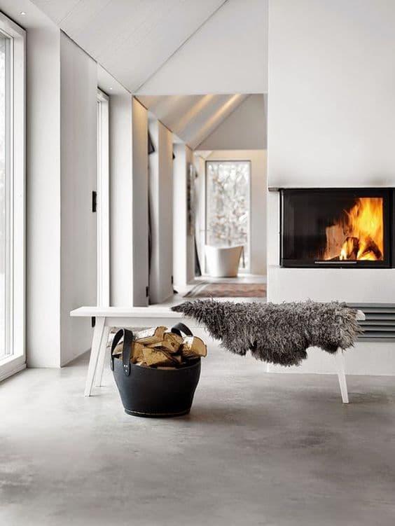 moderne betonlook gietvloer grijs