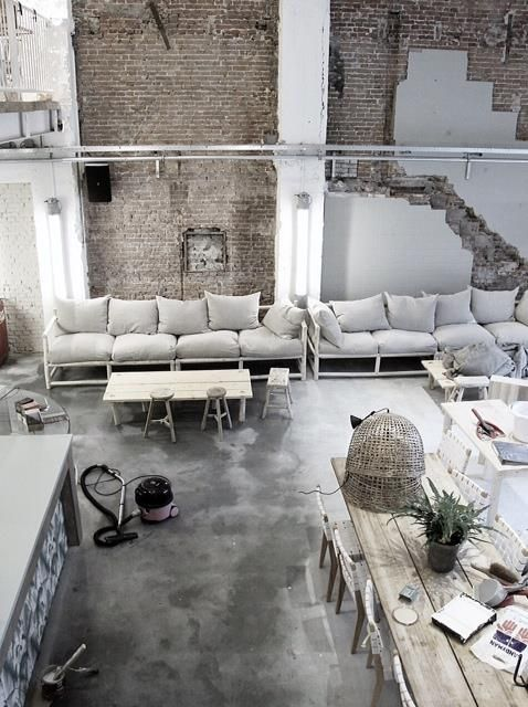 betonlook vloer inspiratie