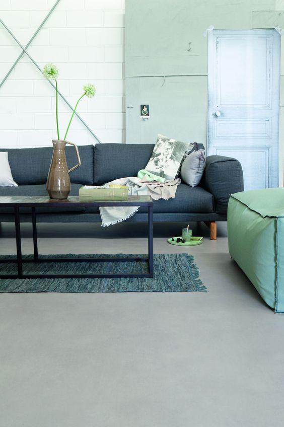 Gietvloer Zeevang - materialen bij een gietvloer | PU gietvloer prijs - rust in je interieur